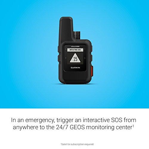Product Image 6: Garmin 010-01879-01 InReach Mini, Lightweight and Compact Satellite Communicator, Black