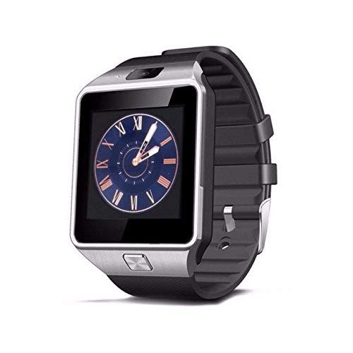 SSXZ Reloj Inteligente Reloj Inteligente Reloj Inteligente Bluetooth Reloj Relogio Llamada telefónica Android Cámara SIM TF para iOS Apple iPhone Samsung H DZ09yin
