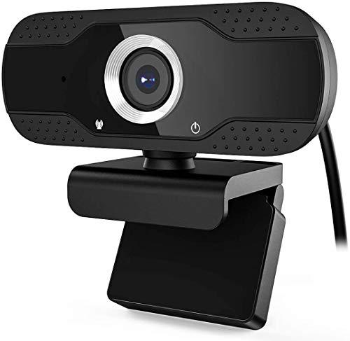 OLD PACIFIC | Webcam per PC con Microfono 1080P USB 30 FPS | Telecamera Streaming Gaming Portatile | Adatto a Videochiamate, Studio, Conferenza, Registrazione e lavoro Video Camera USB 3.0