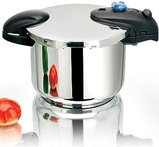 Kitchen Move Illico - Cacerola para horno, acero inoxidable 18/8 acero inoxidable, 8 L Ø 24 cm