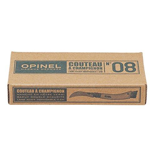 OPINEL O001896 Mostrador 12 cajas cuchillo champiñon N°08
