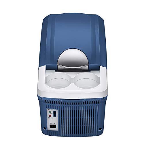 ZXL Koelkast, 8L compacte reiskoeler/-warmer, draagbare campingkoelkast, mini-koelkast voor caravans
