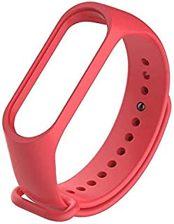 Mi cosa red Color Adjustable Strap only for mi Band 3/4 and 3i (Not for mi Band 2/HRX)