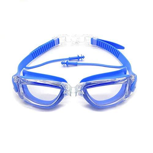 GPWDSN junior simglasögon, mjuk silikon näsbro simglasögon, simträningspass/öppet vatten, inomhus/utomhus linje