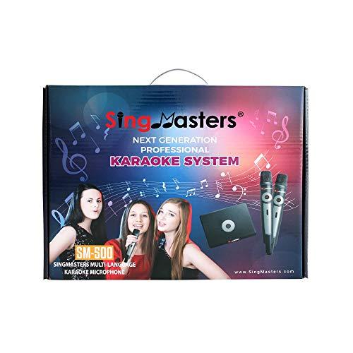 SingMasters Magic Sing Hindi Karaoke Player,4025 Hindi Songs,Dual wireless Microphones,YouTube Download Compatible,HDMI,Song recording,Hindi Karaoke Machine