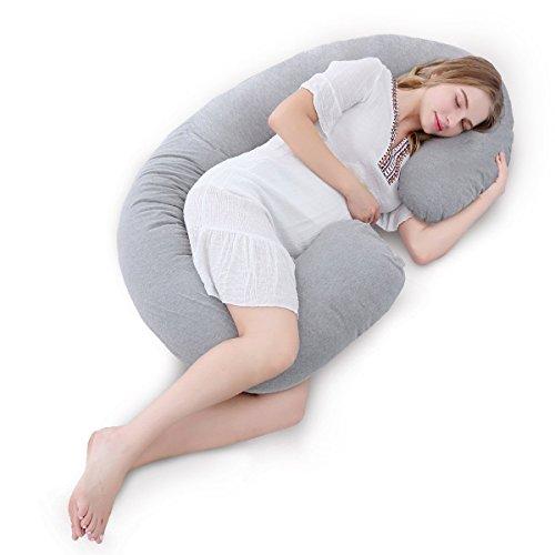 Meiz抱き枕妊婦授乳背もたれ座りクッション妊娠祝いプレゼントマタニティC型だきまくらシムス位腰枕横向き寝抱きまくら洗える出産祝い