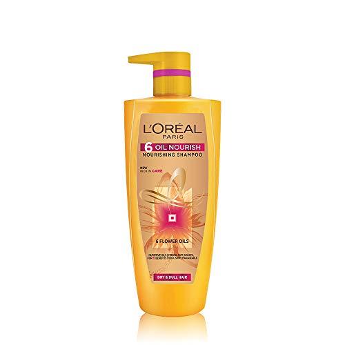 L'Oreal Paris 6 Oil Nourish Shampoo, 1000 ml