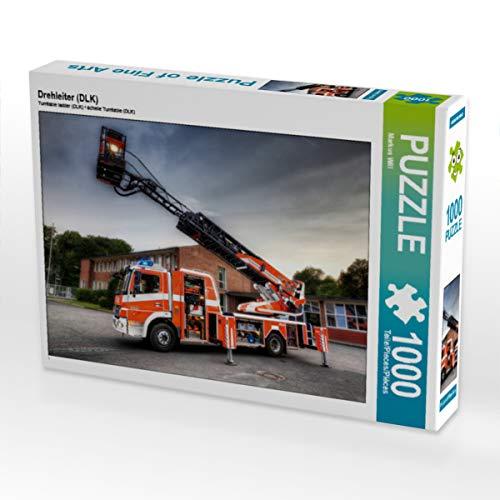 CALVENDO Puzzle Drehleiter (DLK) 1000 Teile Lege-Größe 64 x 48 cm Foto-Puzzle Bild von Markus Will