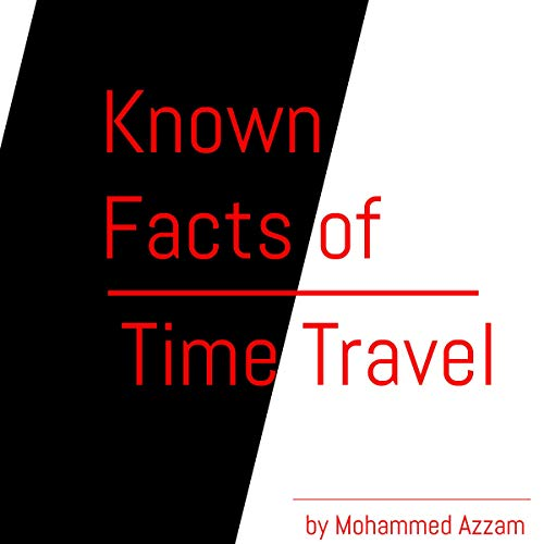 Known Facts of Time Travel audiobook cover art