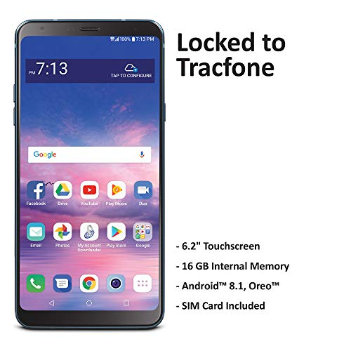 TracFone Carrier-Locked LG Stylo 4 4G LTE Prepaid Smartphone - Black - 16GB - Sim Card Included -...