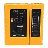 Zeafree Herramienta de prueba del comprobador para cables de red RJ45 RJ11 RJ12 CAT5 CAT6 UTP USB LAN Cable Ethernet Tester (batería no incluida)