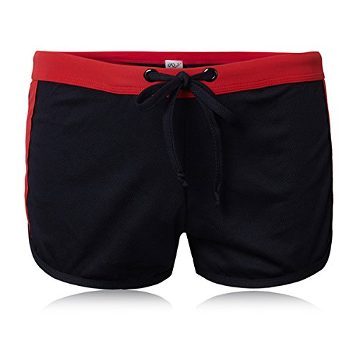 Bluelover Zomer Mens Equarea Quick Dry Sport Shorts Build In U Convex Pouch Zwemmen Trunks Met Trekkoord