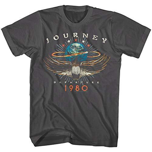 Journey Departures Album Tour 1980 Men's T Shirt Rock Band Vintage Concert Merch