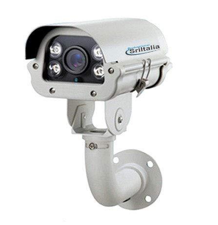 sri-ipa01W IP Camera lectura targhe LPR 2megapíxeles Sony varifocal Lens 6–22mm IP66LCD Software de reconocimiento compatible con microSD