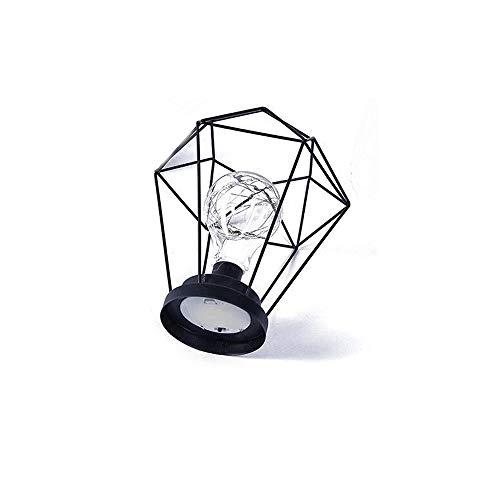 ZUEN Minimalistische Kupfer Lampe Mädchen Herz Hintergrund Lampe Desktop Nachtlicht Dekoration Home/Urlaub/Party/Hochzeit Batterie Licht,C
