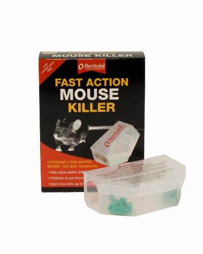 Rentokil Fast Action Mouse Killer (Pack 2) PSF135