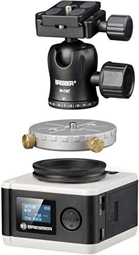 Bresser Teleskop StarTracker Astrofoto Montierung PM-100 für Langzeitaufnahmen oder Zeitraffer
