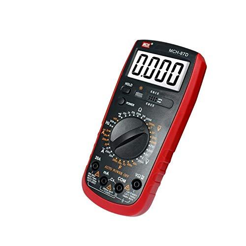 YZLP osciloscopio Multímetro Digital de Cuatro Metros y Medio Bolígrafo de Mesa de Correa Universal de Alta presión antiincendio de Mano MCH-87D