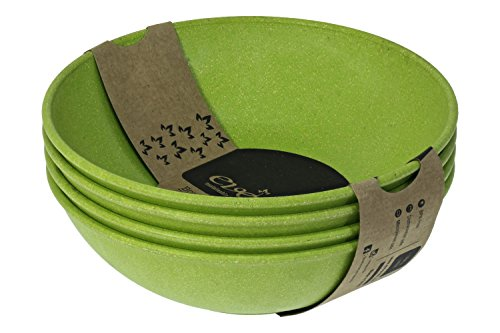 EVO Sustainable Goods 35 oz. Bowl Set, Green