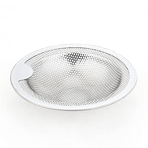Filtro de Fregadero Bañera de Acero Inoxidable Catillero Tapón Tapón Ducción Drenaje Filtro Trampa Cocina Herramienta de Drenaje (Color : A, Size : M)