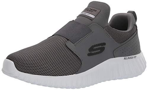 Skechers Herren 52775-42,5 Sneakers, Grau (Charcoal Mesh/Pu/Trim Char), 42.5 EU