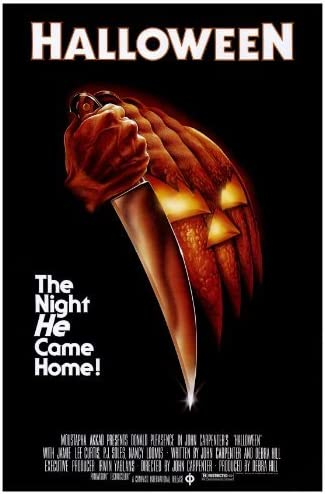 Amazon.com: Halloween Movie Poster (27 x 40 Inches - 69cm x 102cm) (1978)  -(Jamie Lee Curtis)(Donald Pleasence)(Nancy Loomis)(P.J. Soles)(Charles  Cyphers)(Kyle Richards): Prints: Posters & Prints