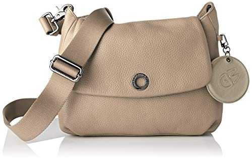 Mandarina Duck Mellow Leather, Bolso de mano para Mujer, Ánfora, Taglia Unica