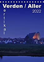 Verden / Aller - vertikal (Tischkalender 2022 DIN A5 hoch): 13 vertikale Ansichen aus Verden an der Aller (Monatskalender, 14 Seiten )