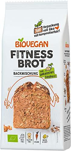 Biovegan Bio Fitnessbrot Backmischung, BIO (6 x 330 gr)