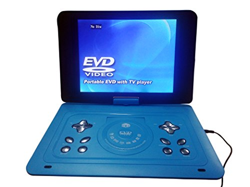 Gadget-Wagon Portable DVD Player with Screen and Speaker (15.2inch)