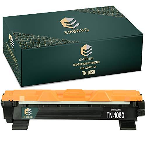 EMBRIIO TN-1050 TN1050 Cartucho Tóner Reemplazo para Brother HL-1110 HL-1112 DCP-1510 DCP-1512 DCP-1610W DCP-1612W HL-1210W HL-1212W MFC-1810 MFC-1910W