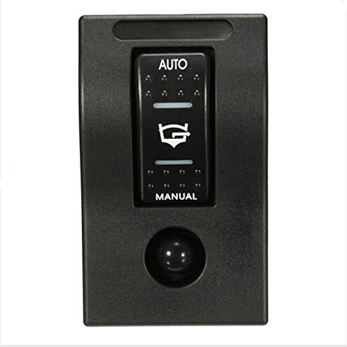 CAIZHIXIANG Interruptor de 12V LED Dual Rocker Bomba de achique Manual el Interruptor del Cuadro de desconexión automática