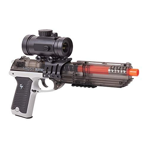Game Face GFM39PGS Ghost Mayhem Spring-Powered, Single Shot Pistol with Red...