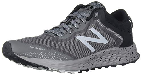New Balance Men's Fresh Foam Arishi Trail V1 Running Shoe, Castlerock/Marblehead, 14 M US