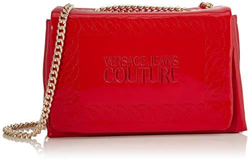 Versace Jeans, Borsa a tracolla Donna, Rosso (Rosso), 10x16x26 cm (W x H x L)