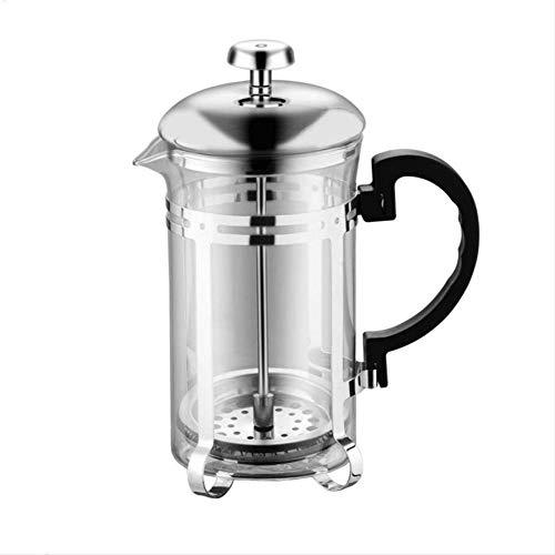 600 Ml handmatige glazen koffiezetapparaat, thee-apparaat