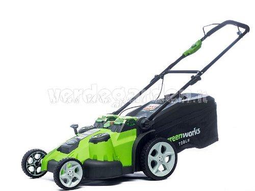 Greenworks Twin Force Grasmaaier met 2 accu's van 40 V