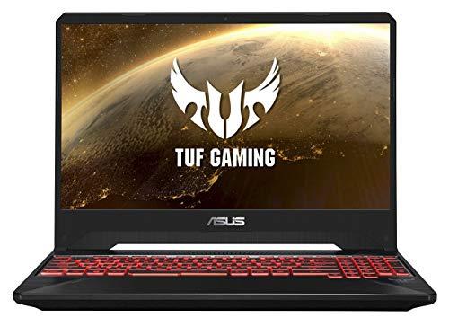 ASUS TUF Gaming FX505GD 15.6' FHD Laptop GTX 1050 4GB Graphics (Core i5-8300H/8GB RAM/1TB HDD/Windows 10/Black Plastic/2.20 Kg), FX505GD-BQ136T