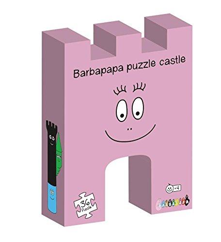 Barbapapa - Puzzle silueta El castillo (Barbo Toys 2214) (BASE TOYS)