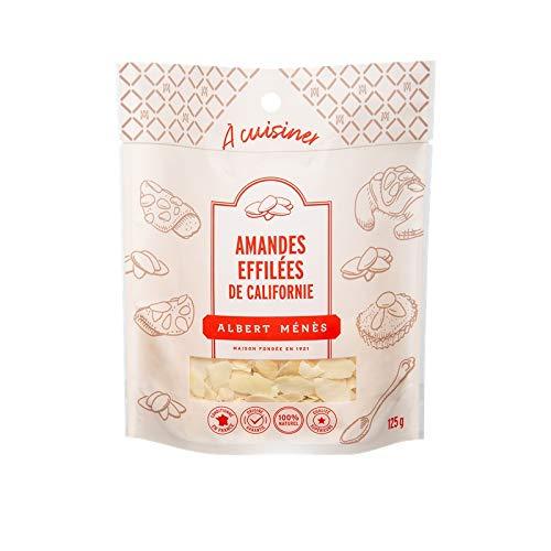 ALBERT MENES AM - Les Fruits Secs - Amandes Effilées de Californie 125 g