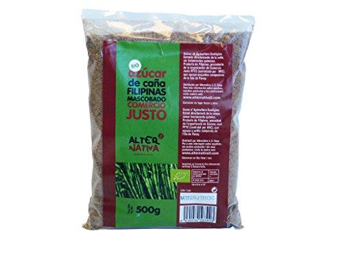 Vollrohrzucker Mascobado, Bio & Fairtrade, 500g Packung
