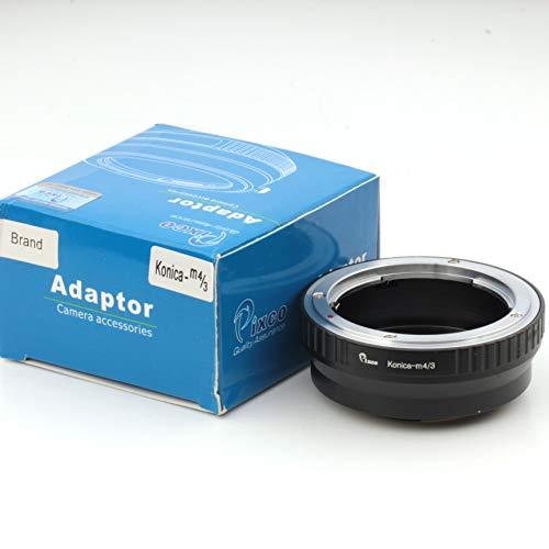 Pixco para Konica-M4 Traje adaptador / 3 de la lente para Konica AR lente para adaptarse a las Micro cuatro tercios de la cámara 4/3
