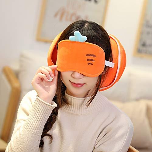 Fymmm`shop Plüschtier Kawaii Taschen Süße Plüschtasche Nette Handtasche Brieftasche Unisex Jungen Mädchen Taschen Plüschtier Obst Obst Augenbinde Eyeshade Schlafsäcke