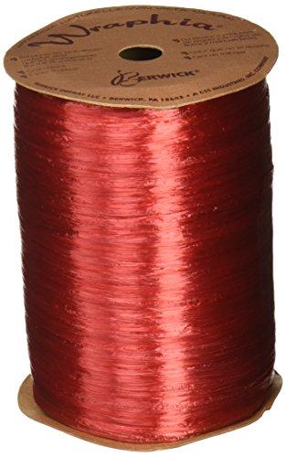 Berwick Wraphia Matte Rayon Craft Ribbon 500-Yard Spool Kraft