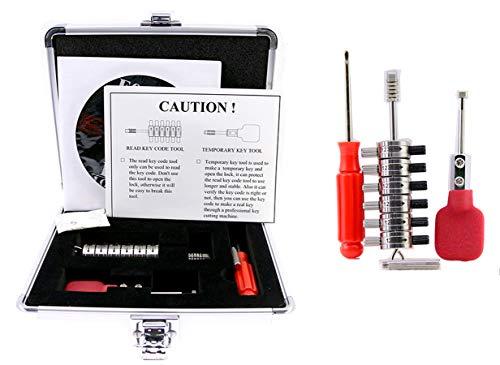 Autoschloss-Decoder, komplettes Premium-Set Ford Tibbe-Dietrich mit Aufbewahrungsbox
