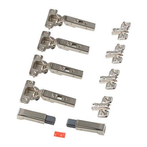 Ikea KOMPLEMENT - Soft schließend Scharnier / 4 Pack / 4-Pack