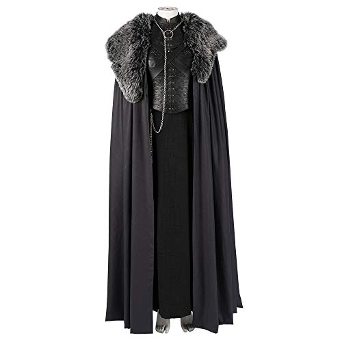 Game of Thrones Sansa Stark Cosplay Costume TV Season 8 Cosplay