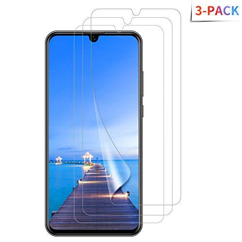 Bigmeda Schutzfolie für Huawei P Smart 2019, [3 Stück] Ultra Klar, Sensitive Touch, Blasenfrei, Unterstützung Fingerprint ID, Huawei P Smart 2019 Folie [Non Panzerglas]