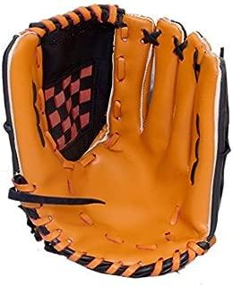 C&W Cricket World IKON One Hand Graphite Lined Black Beige Left Handed Chrome Original Leather Top Grade Wide Palm Baseball Performance Fielding Glove (Single Piece)