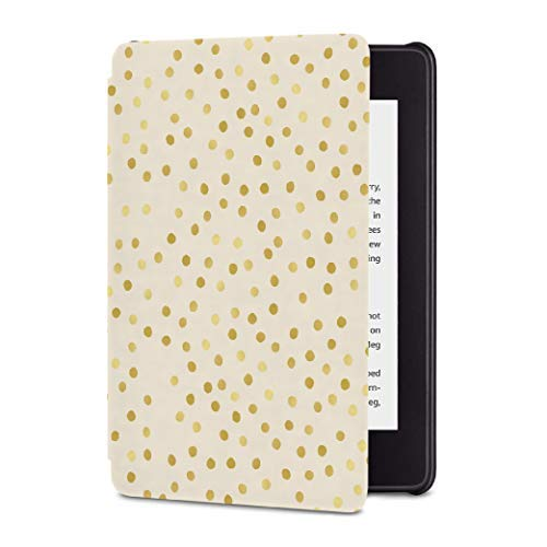 All-New Kindle Paperwhite Waterproof Leather Cover, Slim Fit Smart Case with Auto Sleep/Wake (for Kindle Waterproof 10th Generation Released in 2018) - New Kindle Cover - Covers